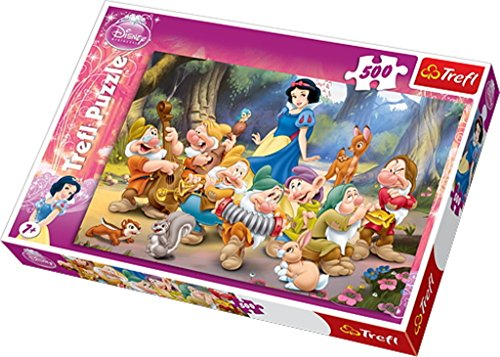 Trefl Puzzle Snow White Disney Princess (500 Pieces)
