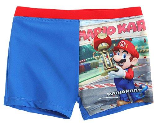 Mario Bros - Costume -  ragazzo Blu blu