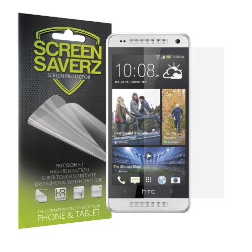 Screensaverz Anti-Glare Matte Screen Protector For Htc One Mini [3-Pack] + Lifetime Replacement Warranty