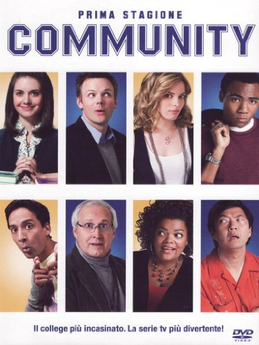 Community Stagione 01 Episodi 01-25 [4 DVDs] [IT Import]