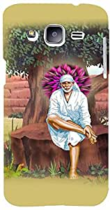 PrintVisa Religious Sai Baba Case Cover for Samsung Galaxy J2