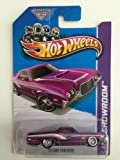 2013 HOT WHEELS 1:64 SCALE '72 FORD RANCHERO SUPER TREASURE HUNT WITH RUBBER TIRES