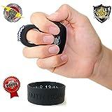 Streetwise Bundle Sting Ring 18 Million Stun Gun (Black) & FREE Bonus Inspirational Bracelet