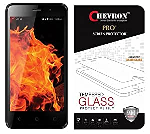 Chevron 2.5D 0.3mm Pro+ Tempered Glass Screen Protector For LYF Flame 8