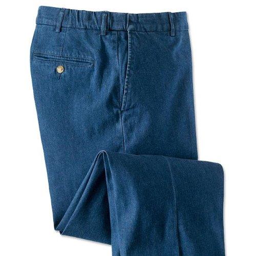 Stretch Comfort Waist Denim Trousers, 36