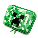 Boys Cute School Supply Organizer Cool Pencil Case Box Holder Bag With Zipper For Kids (Green)