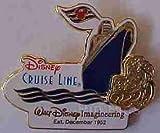 Disney Pin 26735: WDI - 50th Anniversary - Disney Cruise Line (Gold) LE 2500 Pin
