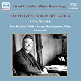 Beethoven / Schubert / Grieg: Violin Sonatas