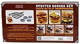 Charcoal Companion Essential Grilling Kit: Stuffed Burger Set, Pro Series