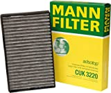 Mann-Filter CUK 3220 Cabin Filter With Activated Charcoal for select  Saab models