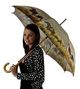 April Showers Umbrella Equestrian Grassland