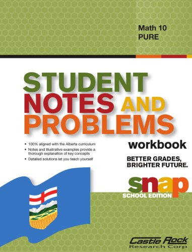 Student Notes and Problems Math 10 Pure