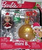 Barbie Mini B with Pet Yellow Christmas Ornament
