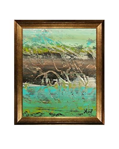 Lisa Carney Avr2012 Framed Giclée On Canvas