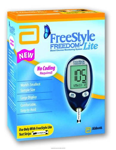 Cheap FreeStyle Freedom Lite Blood Glucose Monitoring System-(1 EACH) (UHS-TSI70914-1EACH)