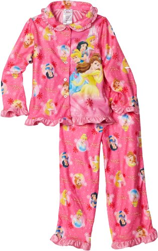 Girls 2-6X Snow Princess 2 Piece Pajama Set