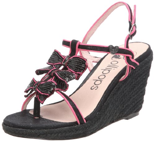 Lollipops Mag Wedge, Sandali donna, Nero (Schwarz (Black)), 37