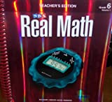 SRA Real Math California Teacher's Edition Grade 6 Volume 1 (0076111164) by Willoughby