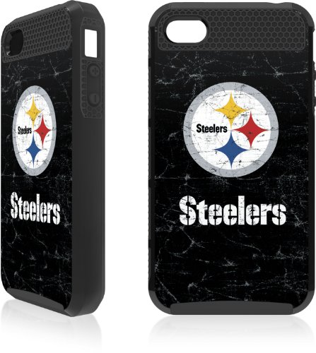 NFL - Pittsburgh Steelers - Pittsburgh Steelers Distressed - iPhone 4 & 4s Cargo Case at Steeler Mania