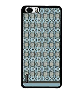 PrintDhaba Pattern D-1157 Back Case Cover for HUAWEI HONOR 6 PLUS (Multi-Coloured)