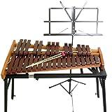 KOROGI デスクシロフォン ECO32/こおろぎ 高級卓上木琴【折りたたみスタンド&譜面台付き】
