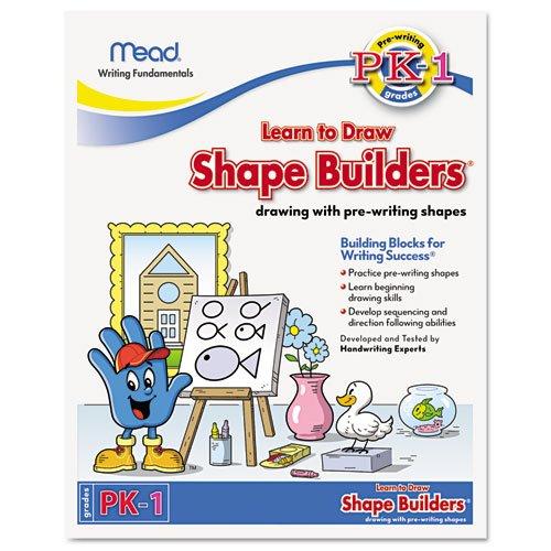 Mead - Writing Fundamentals Tablet, Shape Builders, 10 X 8, 21 Sheets Per Pad 48040 (Dmi Ea