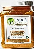 Indus Organic Turmeric (Curcumin) Powder Spice Pack 1 Lb, High Purity, Freshly Packed Reviews
