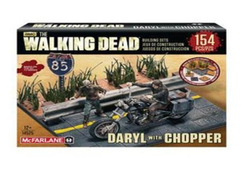 McFarlane Toys Building Sets - The Walking Dead TV Daryl Dixon with Chopper Building Set Assortment by McFarlane Toys