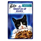 Felix Tuna As Good As It Looks Cat Food 20 x 100g