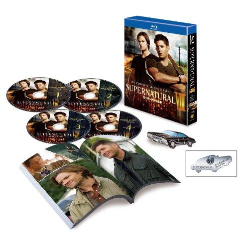 SUPERNATURAL VIII<エイト・シーズン>コンプリート・ボックス [Blu-ray]