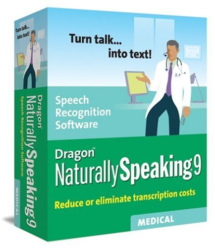 Dragon NaturallySpeaking 9 Medical