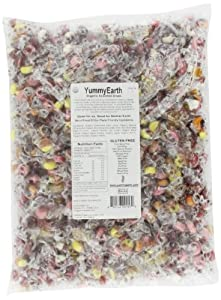 YummyEarth Organic Drops, Assorted Flavors, 5-Pound Bag