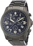 Victorinox Herren-Armbanduhr XL Classic Chronograph Edelstahl 241289