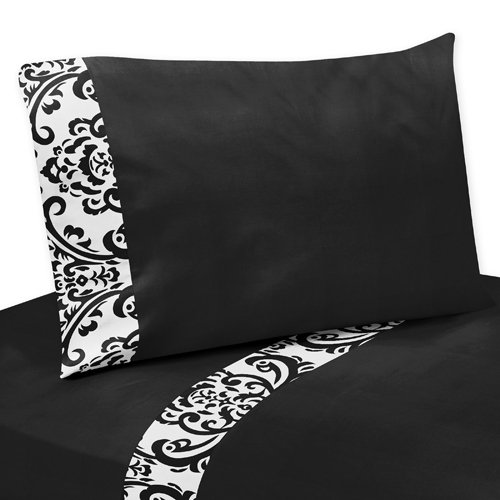 Damask Print Bedding 3551 back