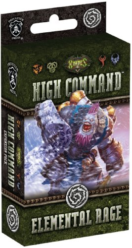High Command: Elemental Rage Board Game - 1