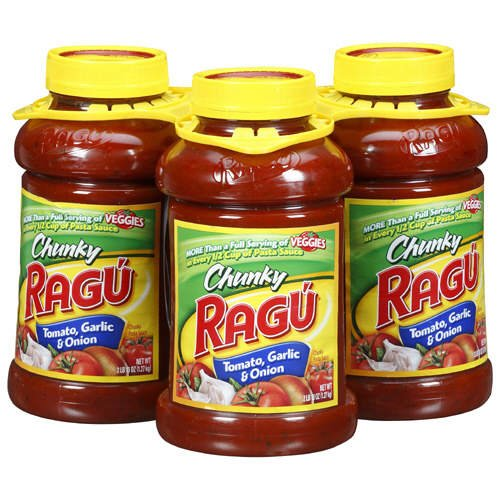 Rag Chunky Tomato, Garlic & Onion - 3/45 Oz. - Case Pack Of 2