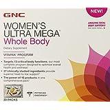 GNC Women's Ultra Mega Whole Body Vitapak Program, 30 Packs