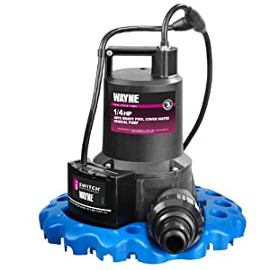 WAYNE WAPC250 1/4 HP Automatic ON/OFF Water Removal Pool Cover Pump by Wayne Water Systems