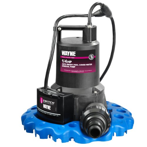 WAYNE WAPC250 1/4 HP Automatic ON/OFF Water Removal Pool Cover Pump (Plumbers Pump compare prices)
