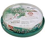 SMARTBUY DVD-RCPRM対応4.7GB1回録画用ワイドプリンタブル1-16倍速スピンドルケース10枚入り抗菌仕様 SCP16X10P