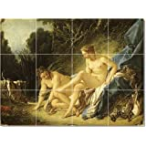 Picture-Tiles Francois Boucher Nudes Tile Mural Residential Remodeling Ideas. 12.75x17 in. (12) 4.25x4.25 tiles. at Sears.com