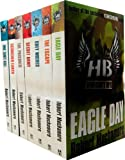 Robert Muchamore Hendersons Boys 7 Books Collection Set RRP: £48.93 (One Shot Kill, Scorched Earth, The Prisoner, Secret Army, Grey Wolves, The Escape, Eagle Day) Robert Muchamore