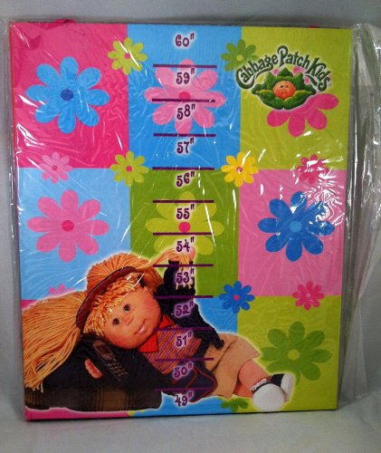 Cabbage Patch Kids Growth Chart