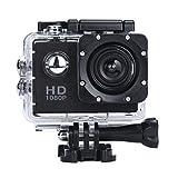 Heens <正規品>アメリカ爆売る [並行輸入品] ブラック ウェアラブルカメラ 1080P フルHD 30メートル防水 170度広角レンズ アウトドアスポーツや空撮る最高