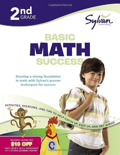 Second Grade Basic Math Success (Sylvan Workbooks) (Math Workbooks)