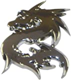 DRAGON CAR CHROME BADGE EMBLEM KIT CAR PROJECT