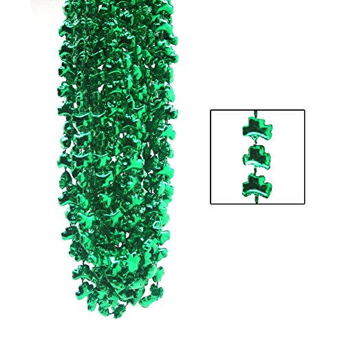Shamrock Beads : package of 12