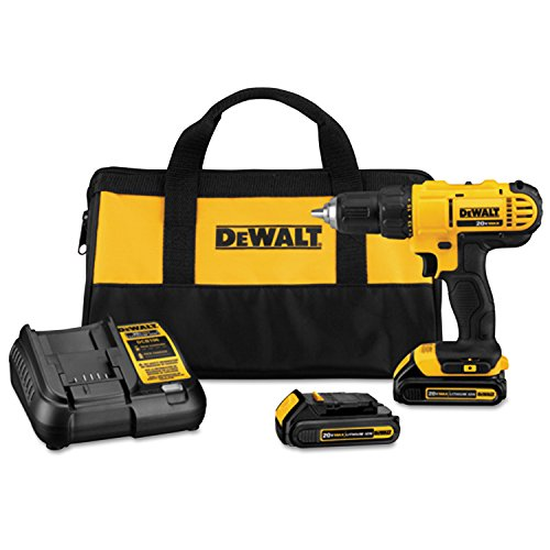 Dewalt DCD771C2 20V MAX Cordless Lithium-Ion 1/2 inch Compact Drill Driver Kit (Drill Lithium Ion compare prices)