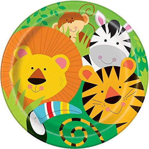 Animal Safari Dinner Plates, 8ct (Animal Shower Decorations compare prices)