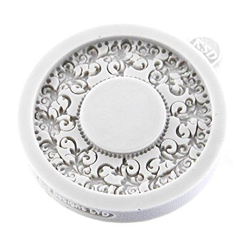 Miniature Frames - Vintage Circle Embellishment Cake Mold